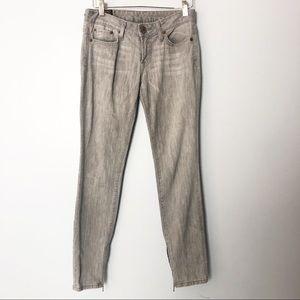 Lucky Brand Light Gray Wash Skinny Jeans